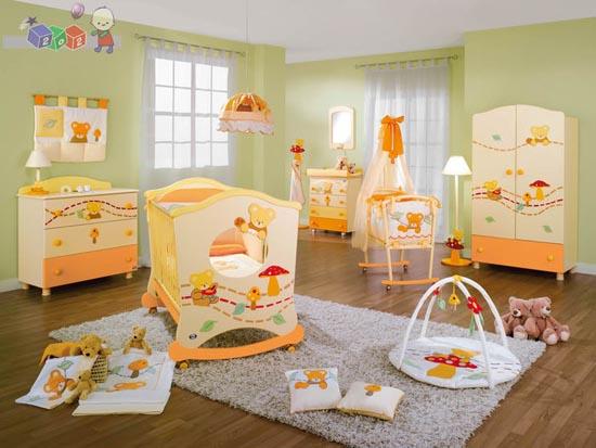 нежные цвета в комнате
