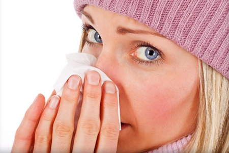 Промывание носа фурацилином
