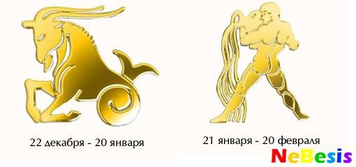 Водолей-мужчина и Козерог-женщина