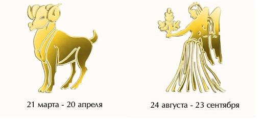 Овен-мужчина и Дева-женщина