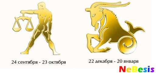 Весы-мужчина и Козерог-женщина