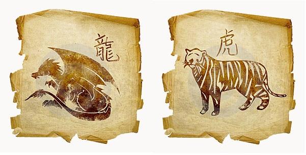 Дракон-мужчина и Тигр-женщина