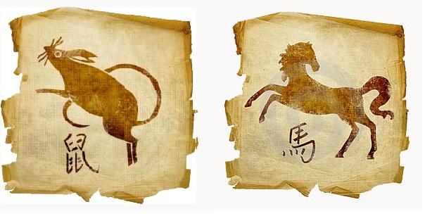 Крыса-мужчина и Лошадь-женщина