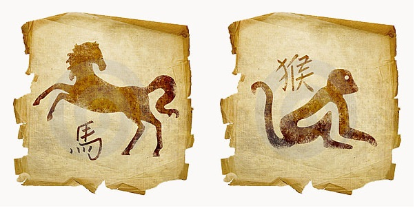 Лошадь-мужчина и Обезьяна-женщина
