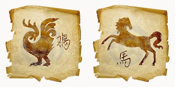 Петух-мужчина и Лошадь-женщина
