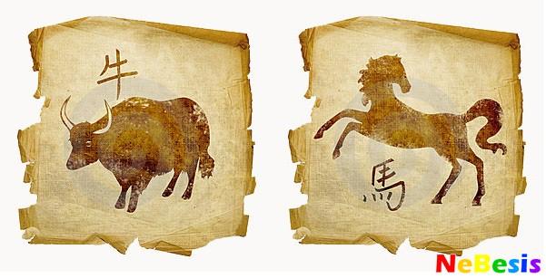 Бык-мужчина и Лошадь-женщина