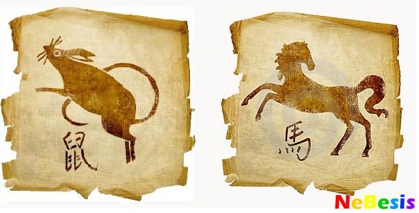 Лошадь-мужчина и Крыса-женщина