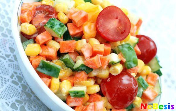 Рецепт овошного салата с фото