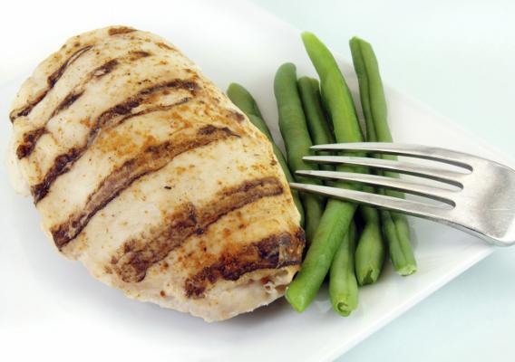Диета курица и овощи