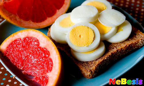 Диета-Яйцо-и-грейпфрут
