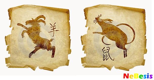 Коза-мужчина и Крыса-женщина