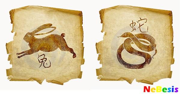 Змея-мужчина и Кролик-женщина