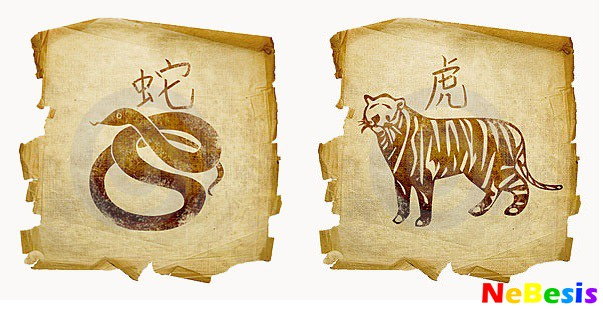 Тигр-мужчина и змея-женщина
