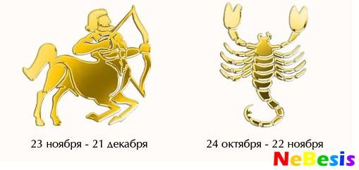 Скорпион-мужчина и Стрелец-женщина