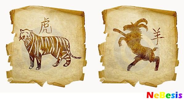 Коза-мужчина и Тигр-женщина