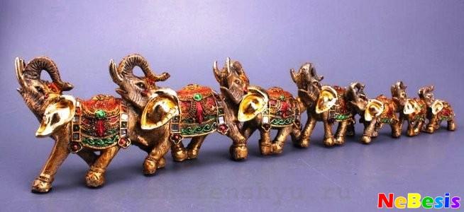 Семь слонов по Фен-шуй