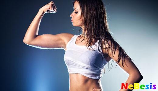Как накачать мышцы рук девушке